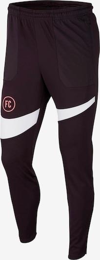 NIKE Sporthose 'Nike FC' in burgunder, Produktansicht