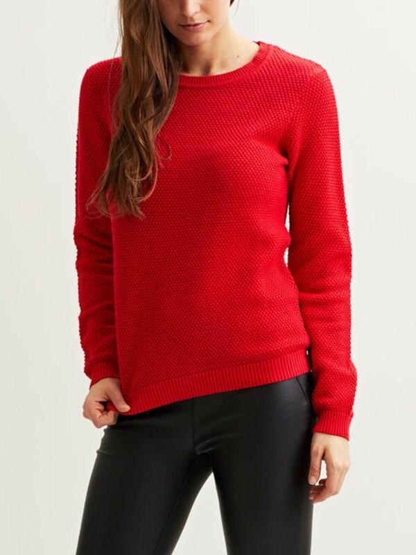 VILA Gestrickter Pullover