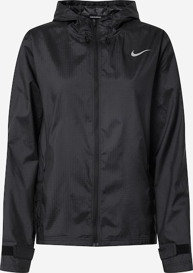 NIKE Sports jacket 'Essential' in grey / black, Item view