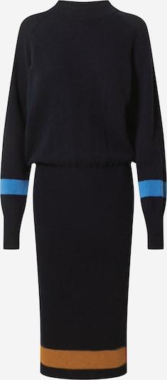 Libertine-Libertine Jurk 'Stay' in de kleur Navy / Lichtblauw / Bruin, Productweergave
