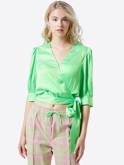 Bluză 'Wham' Essentiel Antwerp pe verde: Privire frontală