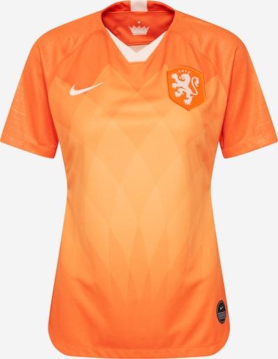 NIKE Shirt in orange / weiß, Produktansicht