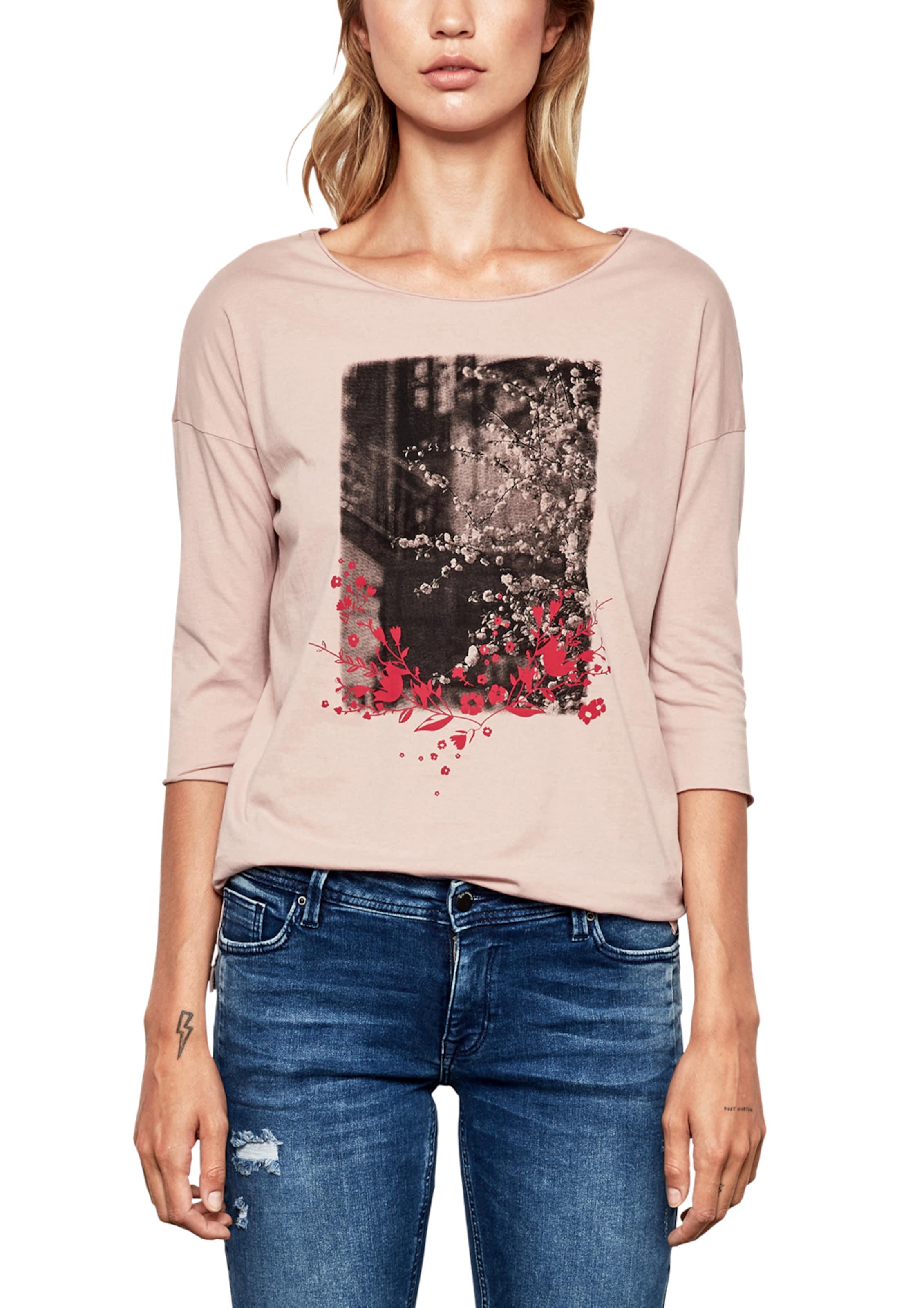 By Designed Q s RosaRot Shirt Schwarz In 4Lq35RAcjS
