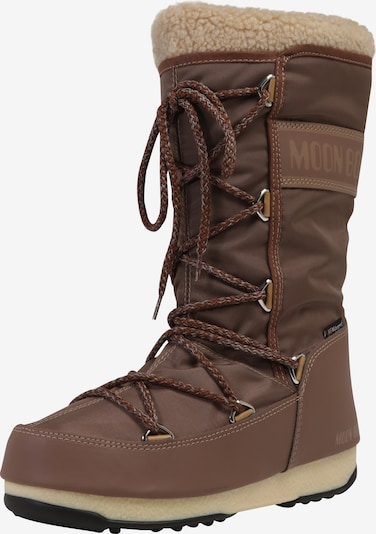 MOON BOOT Snowboots 'MOON BOOT MONACO WOOL WP' in schlammfarben, Produktansicht