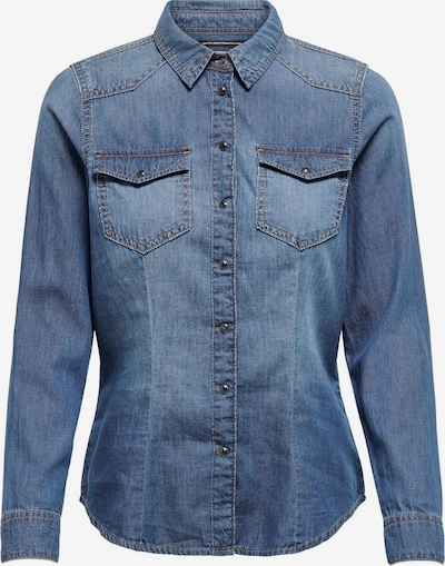 ONLY Bluse i blue denim, Produktvisning