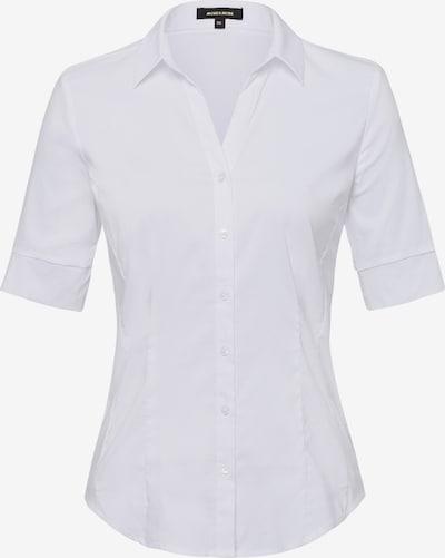 MORE & MORE Bluse in weiß, Produktansicht