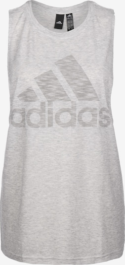 ADIDAS PERFORMANCE Top in grau / weiß, Produktansicht