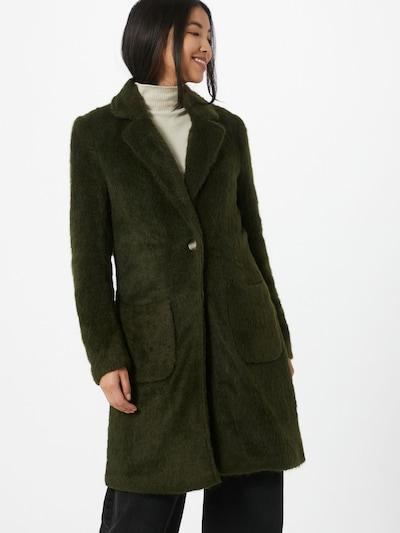 ONLY Mantel 'Claire' in dunkelgrün, Modelansicht
