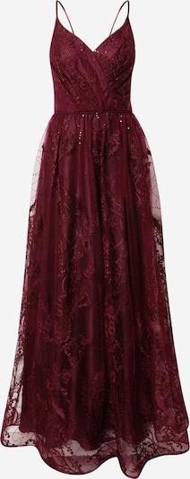 Unique Kleid in dunkelrot, Produktansicht