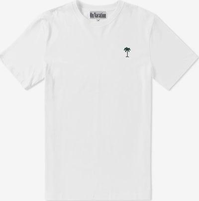 On Vacation T-Shirt in weiß, Produktansicht