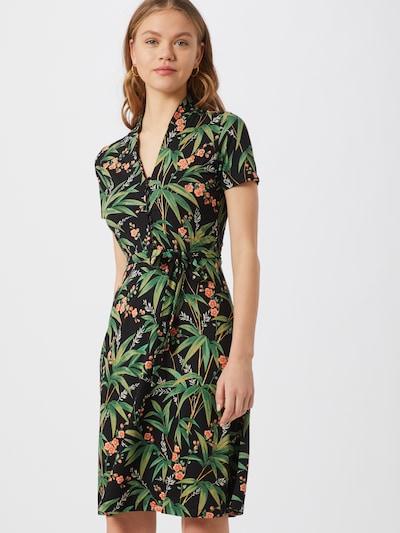 King Louie Kleid 'Emmy' in grün / mischfarben / schwarz, Modelansicht