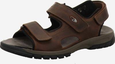 WALDLÄUFER Sandale in dunkelbraun, Produktansicht