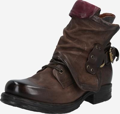 A.S.98 Biker-Boots 'Saintec' in braun / kastanienbraun, Produktansicht