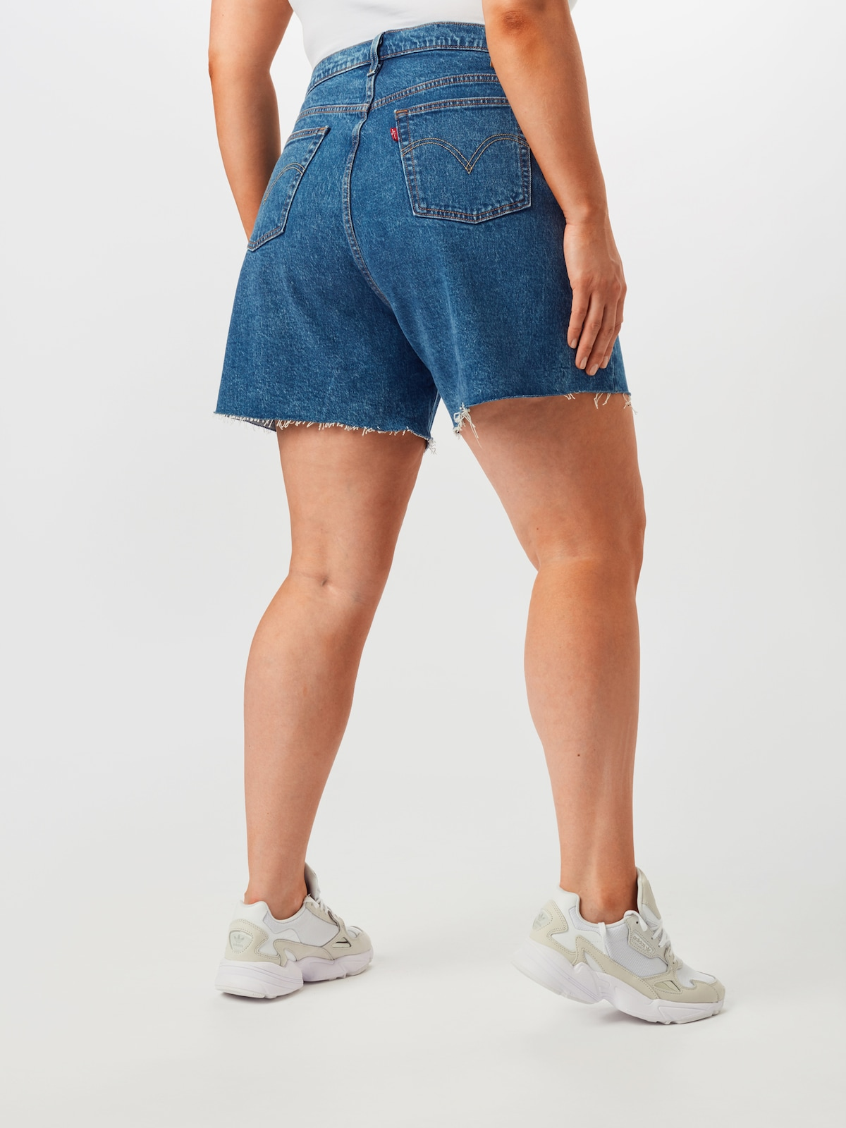 Női Ruházat Levi's® Plus Farmer kék farmer színben