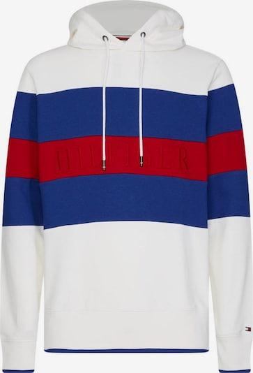TOMMY HILFIGER Kapuzensweatshirt in weiß, Produktansicht