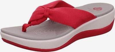 CLARKS Pantoletten in rot, Produktansicht