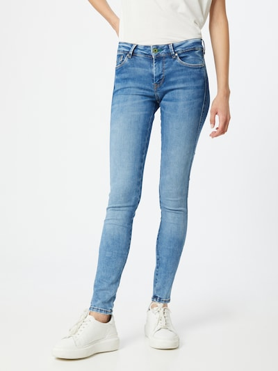 Pepe Jeans Jeans 'Pixie Stitch' in blue denim, Modelansicht