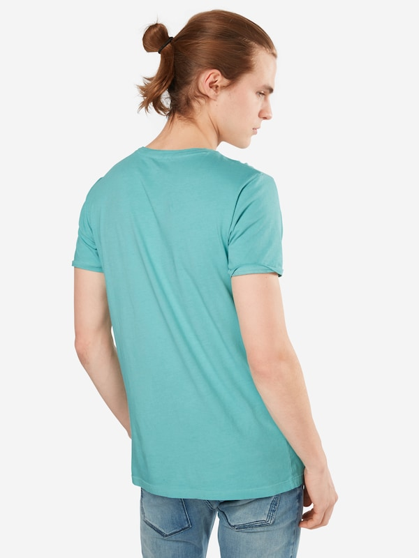 Boss Basic-shirt With Cutout Round Troy