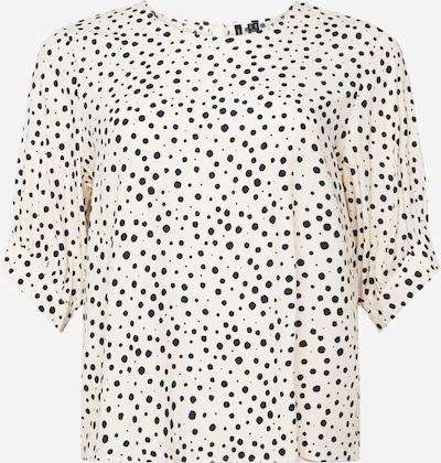 Bluză 'ALMA' Vero Moda Curve pe negru / alb, Vizualizare produs