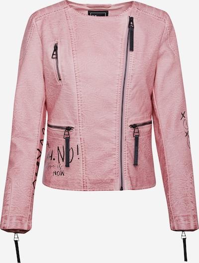 Harlem Soul Bikerjacke in pink, Produktansicht