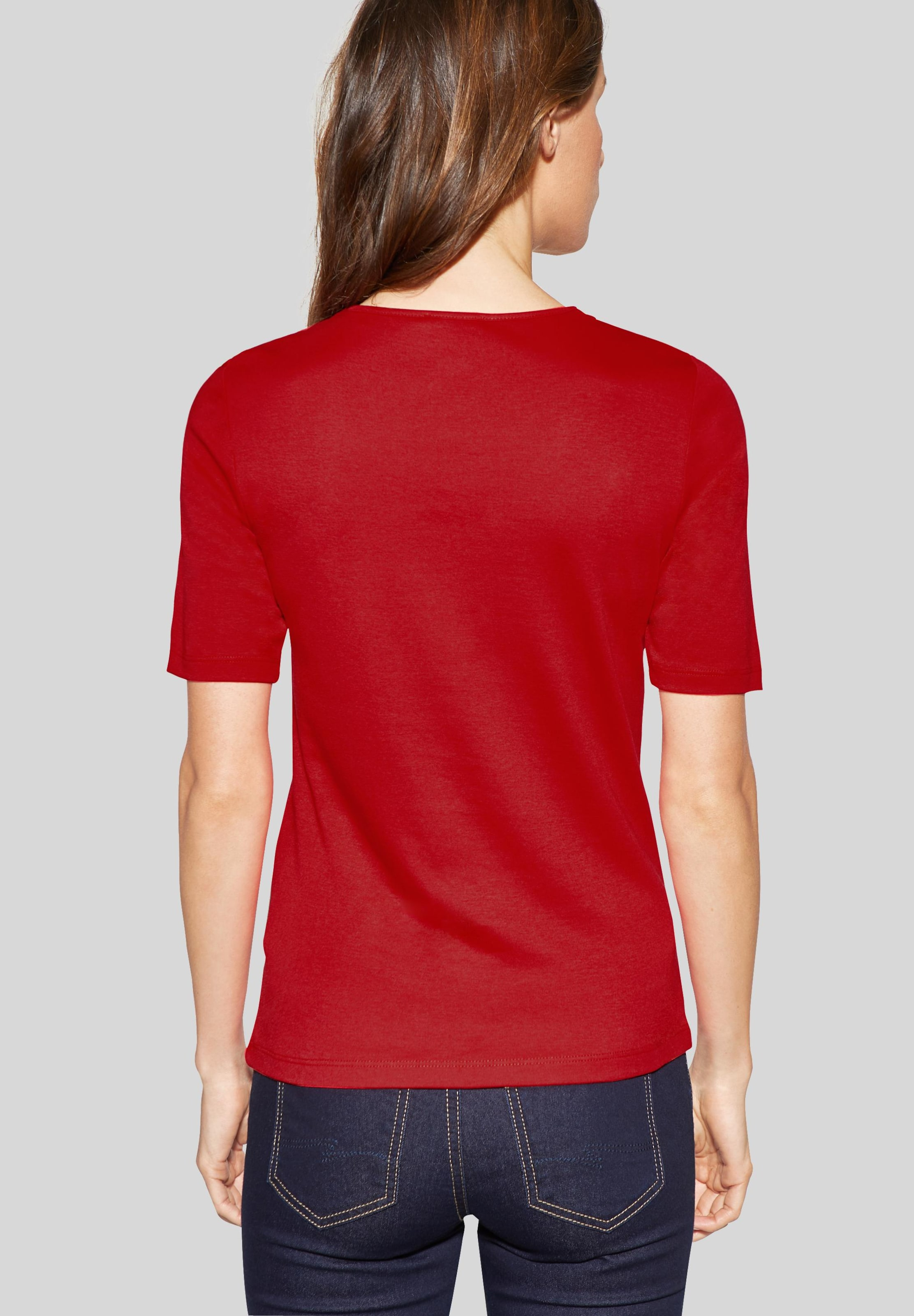 One Street Shirt In 'palmira' Rot EHW9D2IY