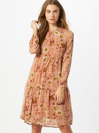 VERO MODA Kleid 'Cille' in apricot, Modelansicht