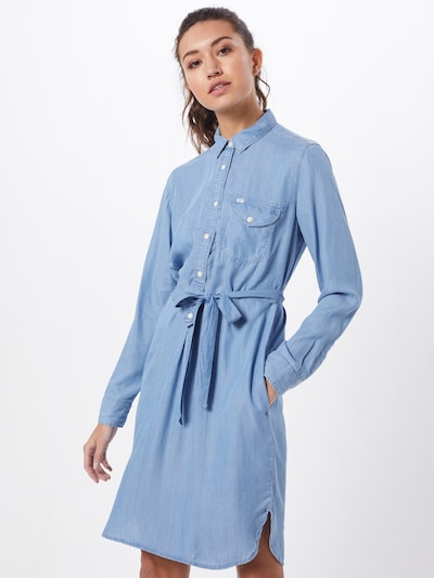 Lee Kleid 'ESSENTIAL' in blue denim, Modelansicht