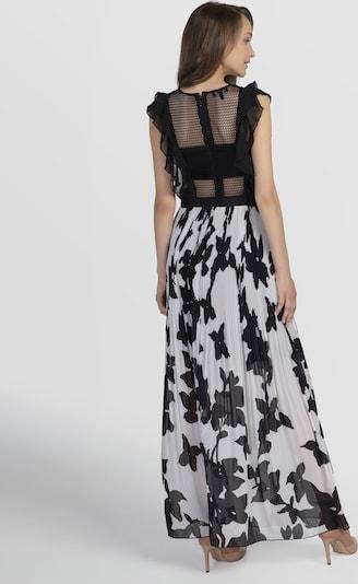 APART Abendkleid mit Mesh-Oberteil in creme / schwarz, Produktansicht