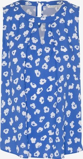 ETERNA ohne Arm Bluse MODERN CLASSIC in blau / weiß, Produktansicht
