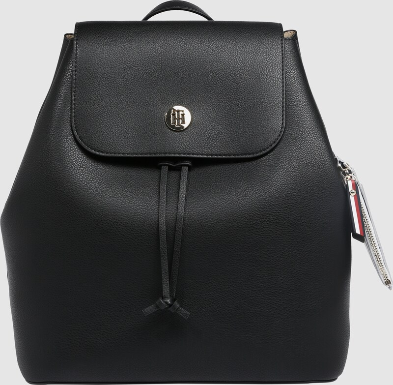 98531c4d88 TOMMY HILFIGER Hátizsák 'Charming Tommy Backpack' fekete színben | ABOUT YOU
