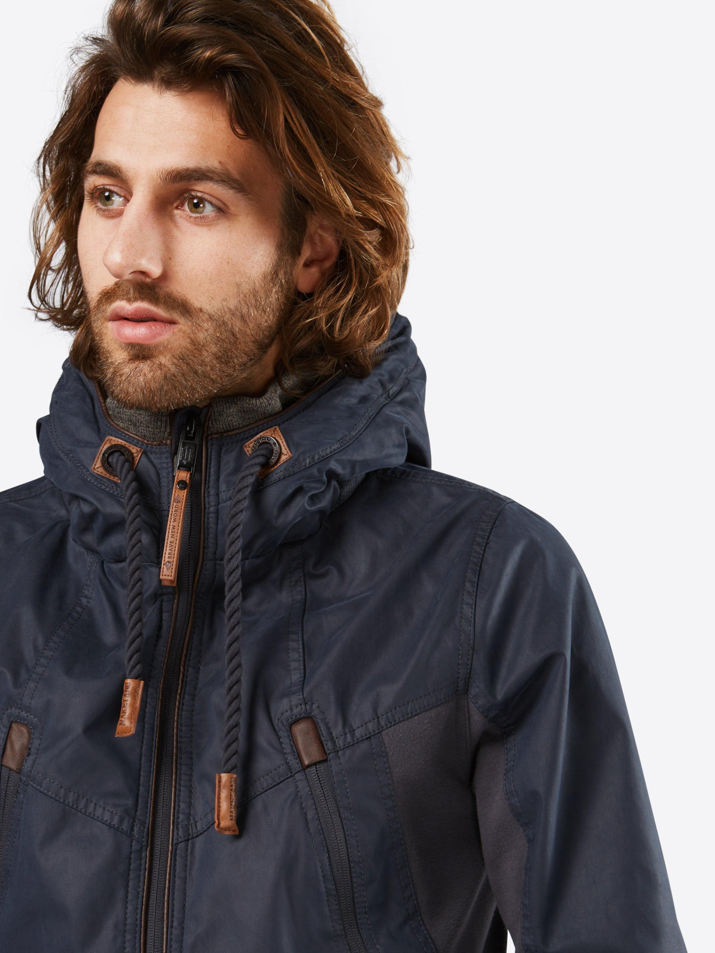 naketano Jacke im sportiven Look 'Mittagsmarder' Günstig Kaufen Limited Edition  Um Online Bester Ort Verkauf Hochwertige YWgioAr