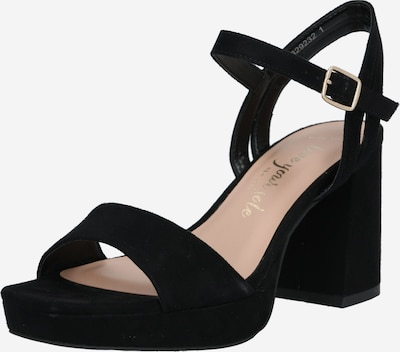 NEW LOOK Sandale 'WF ZEBRA' in schwarz, Produktansicht