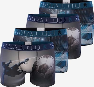 CR7 - Cristiano Ronaldo Boxershorts 'Boys' in nachtblau / dunkelgrau, Produktansicht
