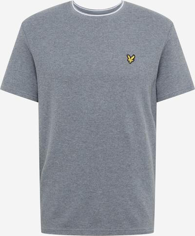 Lyle & Scott Shirt 'Waffle' in grau, Produktansicht