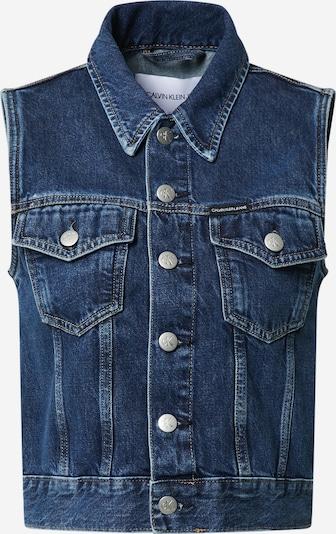 Calvin Klein Jeans Vesta - modrá džínovina, Produkt