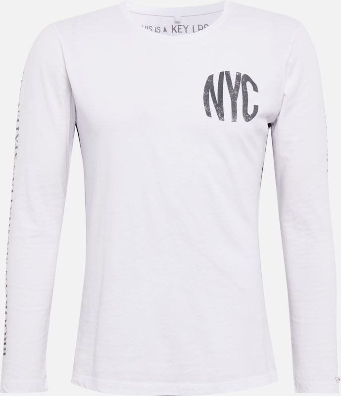 'mls Gris Key Largo T Round' District FoncéBlanc shirt En OknwP80