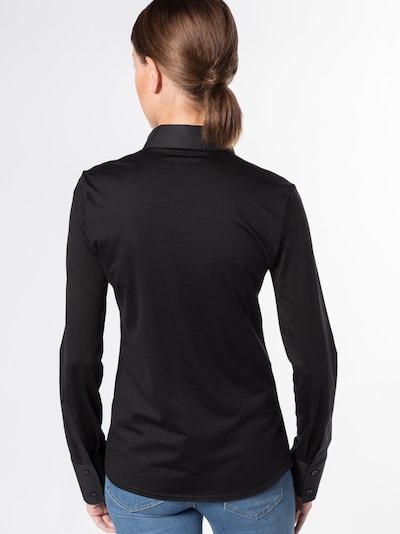 ETERNA Langarm Bluse in schwarz, Produktansicht