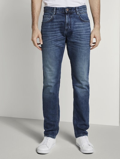 TOM TAILOR Jeans 'Josh Regular' in blau, Modelansicht