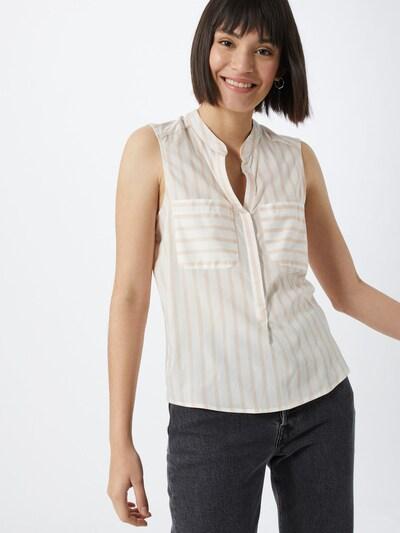 VERO MODA Shirt 'Erika' in rosa / weiß, Modelansicht