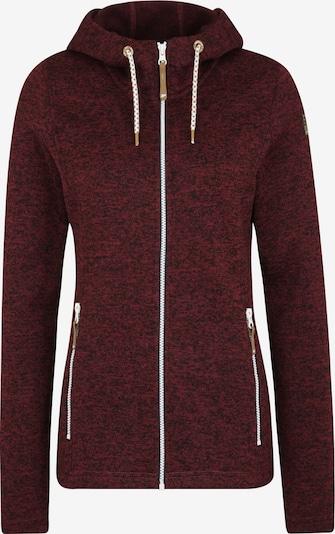 Bluză cu fermoar sport 'EP AGEN' ICEPEAK pe roșu vin / negru, Vizualizare produs