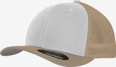 Flexfit Cap in sand / weiß, Produktansicht