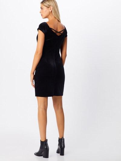 EDC BY ESPRIT Koktejl obleka | črna barva: Pogled od zadnje strani