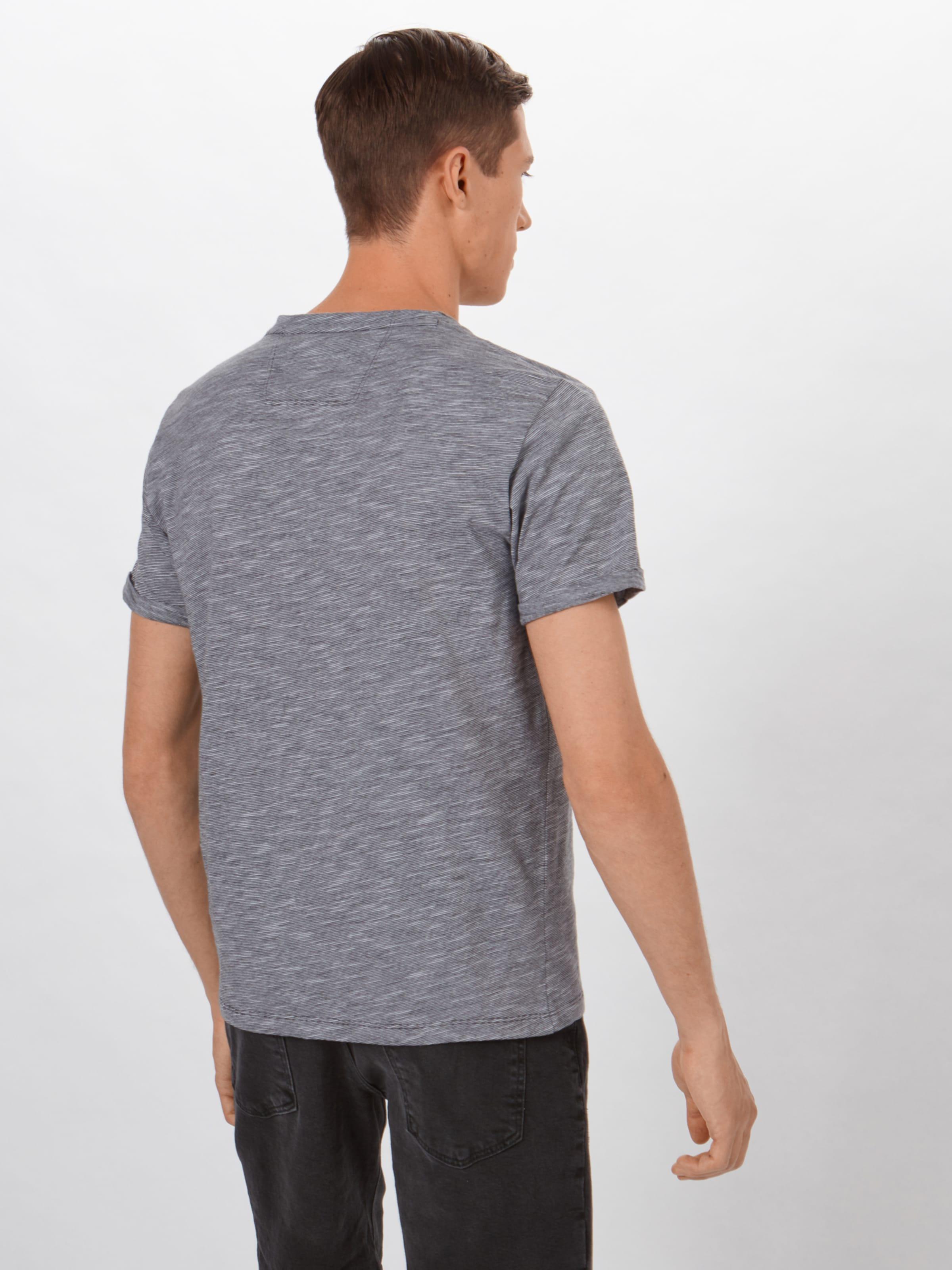 Foncé shirt Red oliver T Label En S Gris CQdxshtr