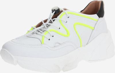 MJUS Sneaker 'KIMBER' in neongelb / weiß, Produktansicht
