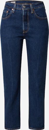 LEVI'S Jeans '501® CROP' in blue denim, Produktansicht