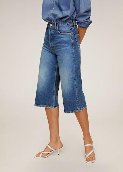 MANGO Jeans in dunkelblau, Modelansicht