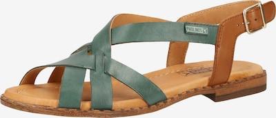 PIKOLINOS Sandalen in braun / petrol, Produktansicht