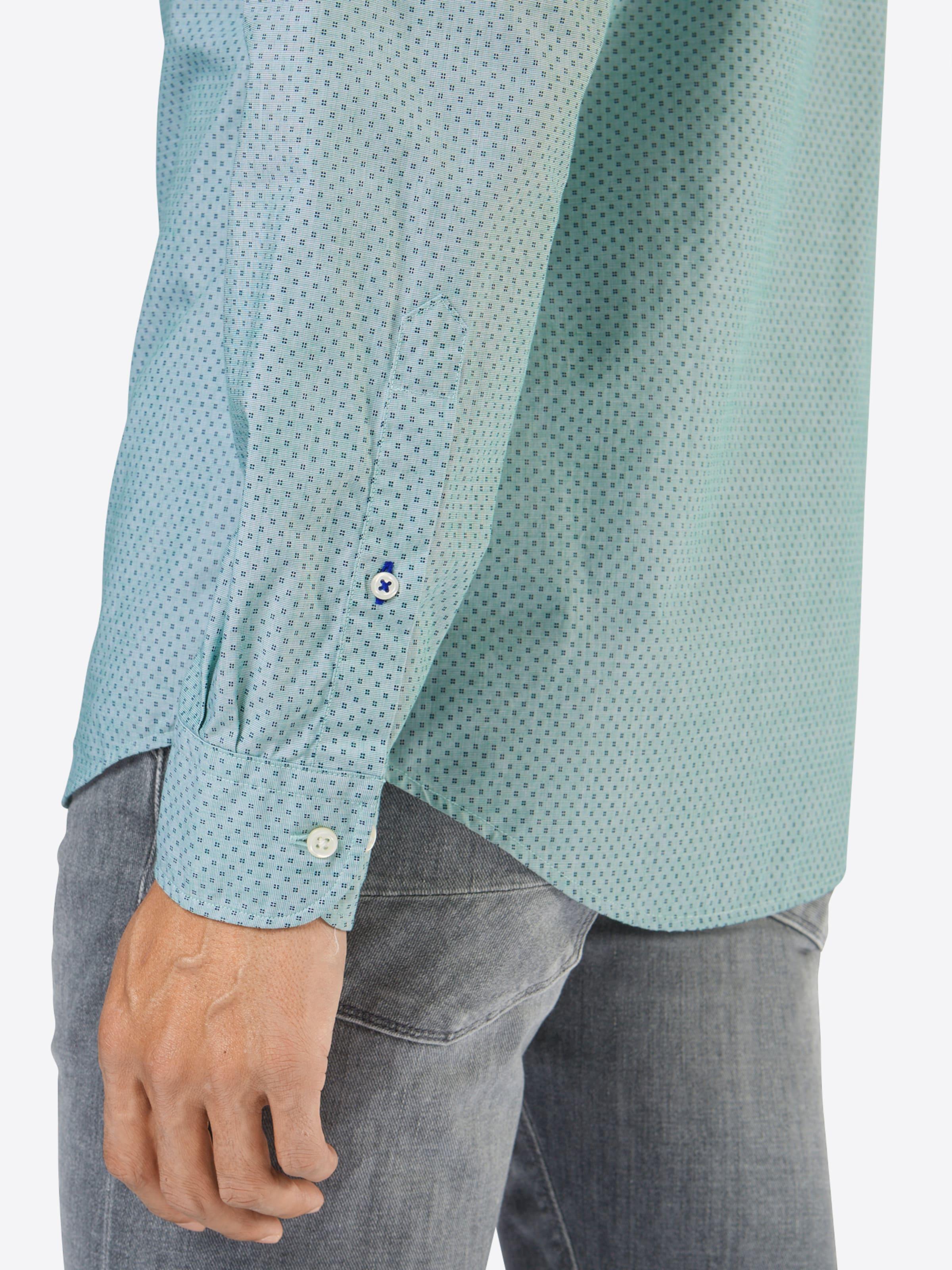 Wie Viel TOMMY HILFIGER Hemd 'PRINTED FIL A FIL RF3' Billig Verkaufen Rabatt Echt Billigste Online Günstig Kaufen Niedrige Versandkosten HEGj6Coi5