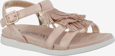 Sprox Sandalen für Mädchen in beige, Produktansicht