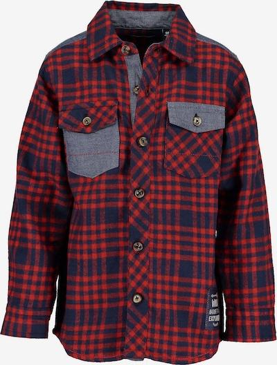 BLUE SEVEN Flanellhemd in rot, Produktansicht